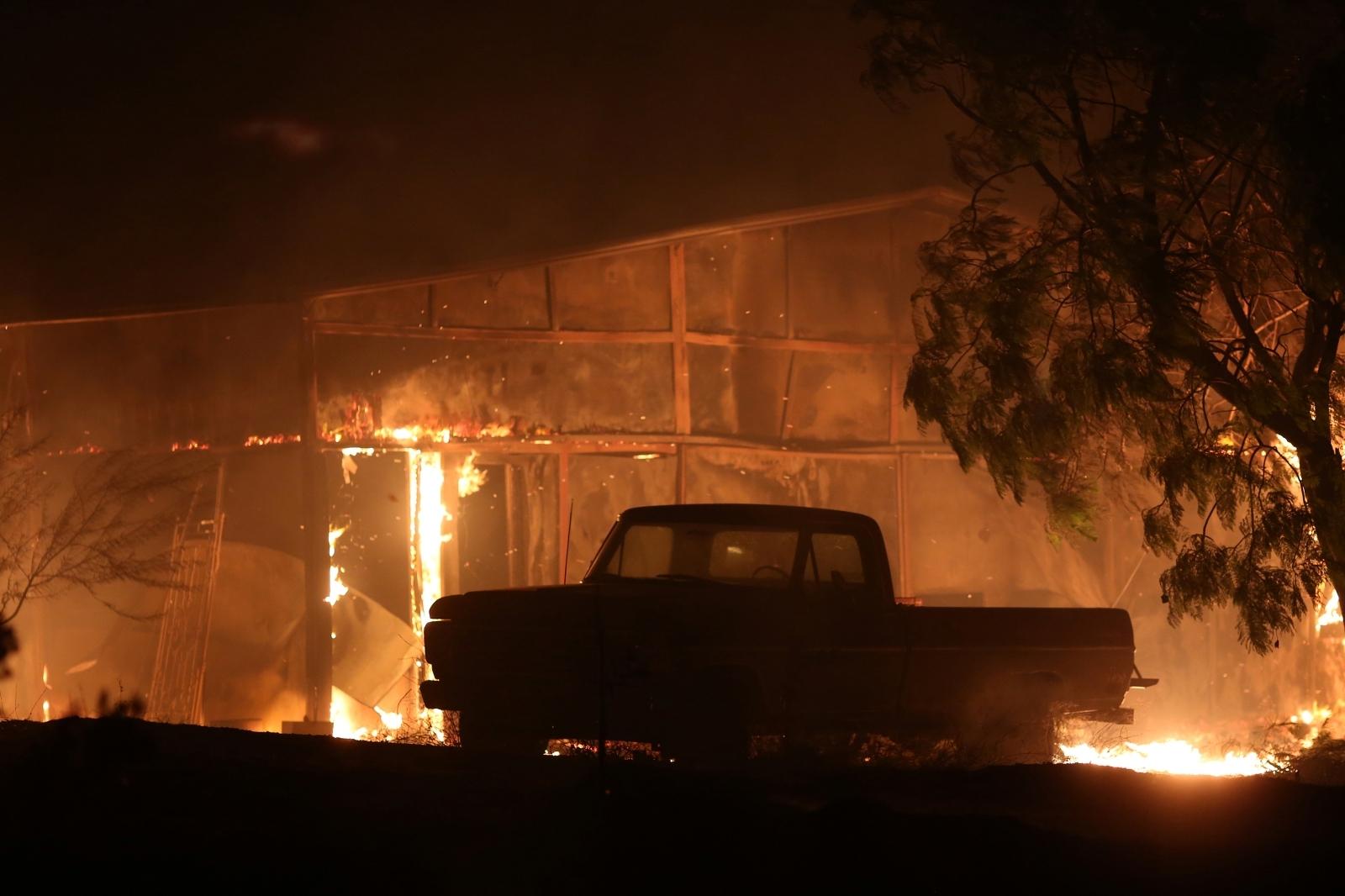 Thomas fire california
