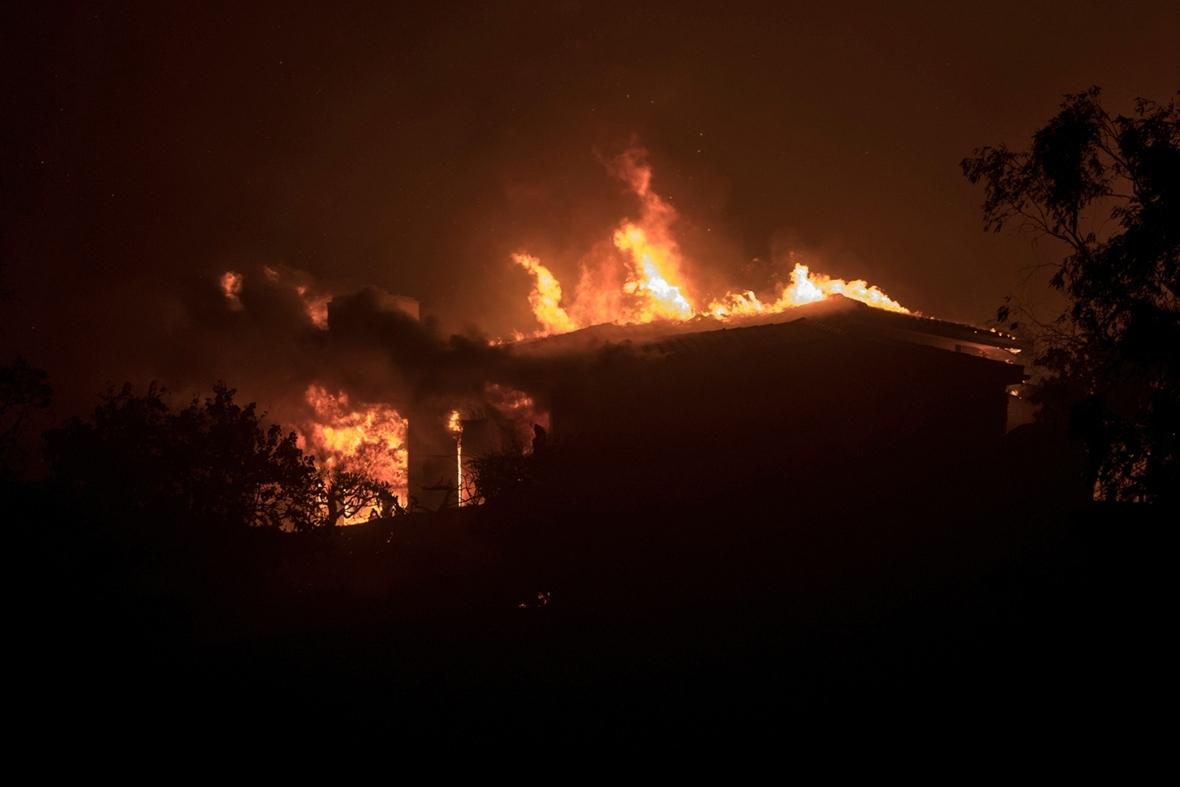 Thomas fire Ventura california