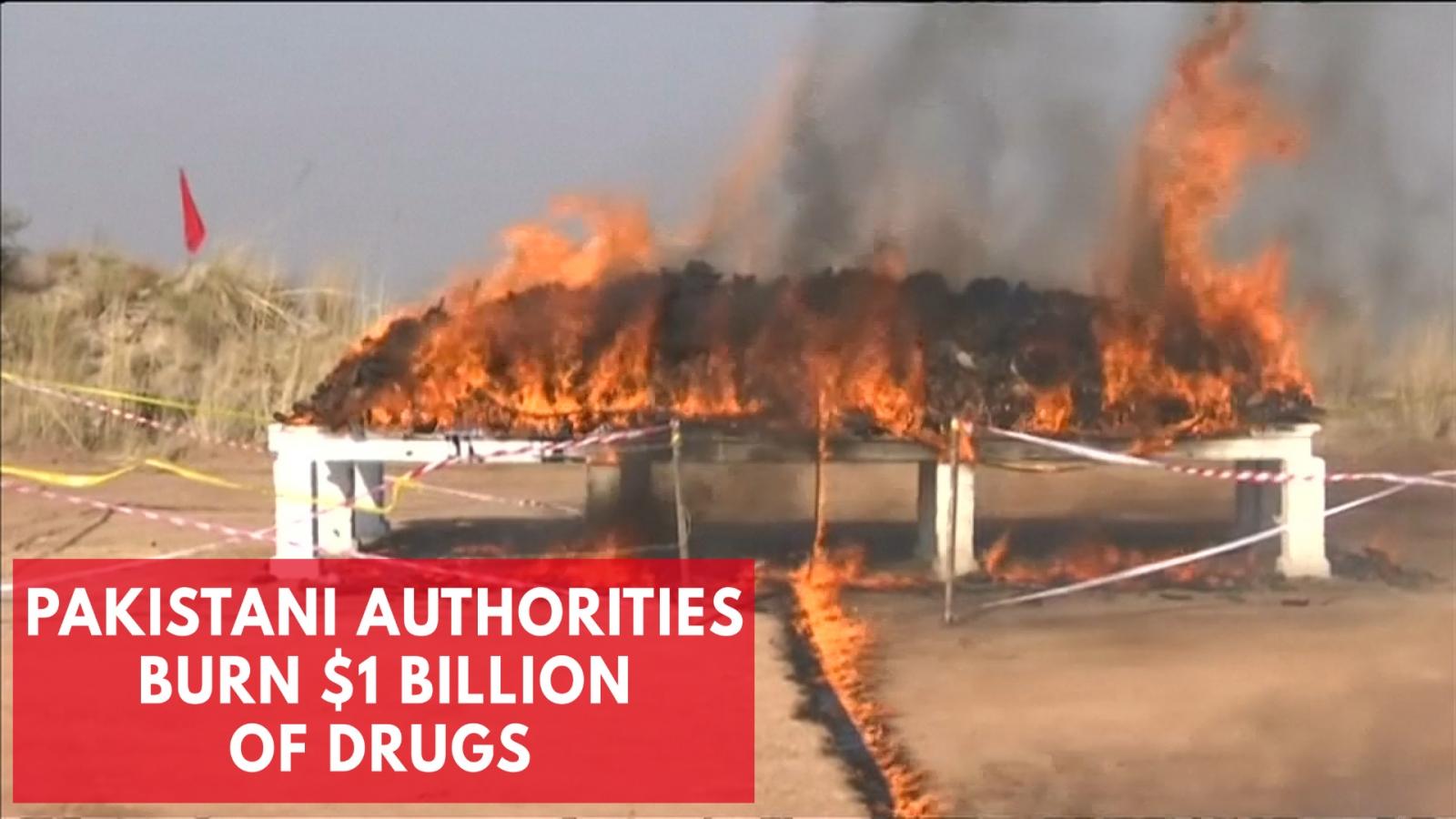 1-billion-of-drugs-burned-by-pakistani-authorities