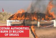 $1 Billion Of Drugs Burned By Pakistani Authorities