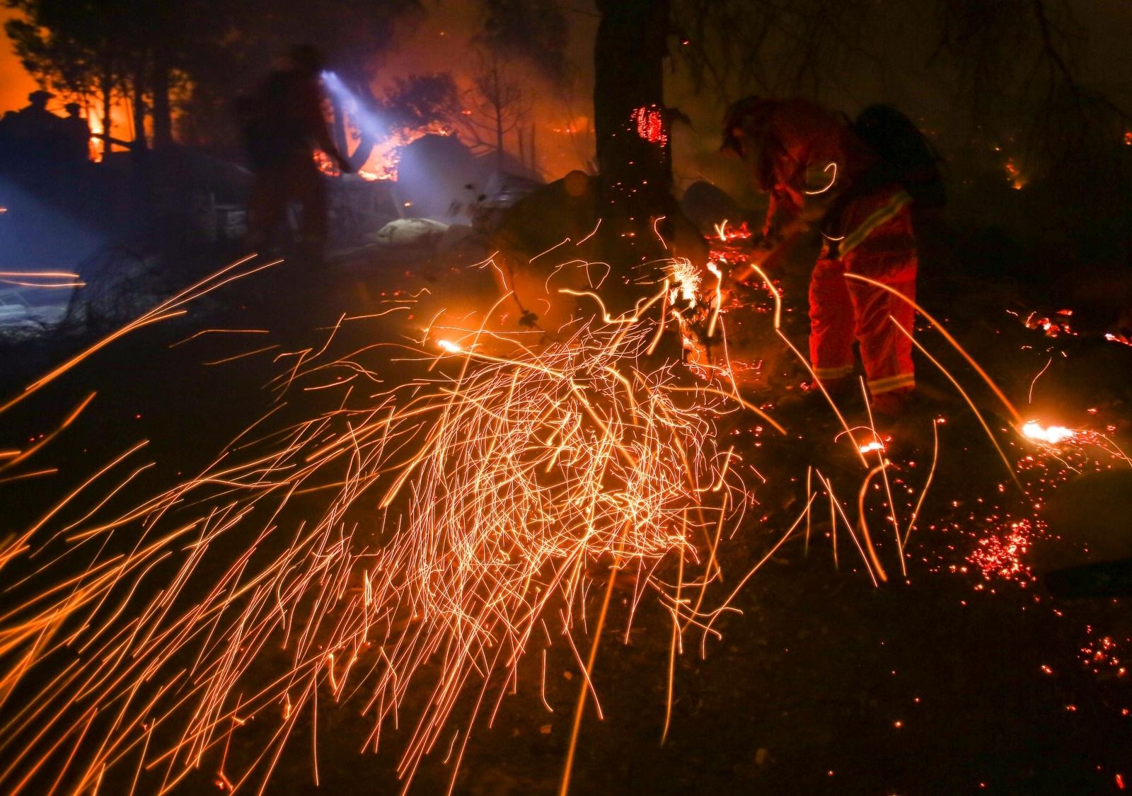 Thomas fire
