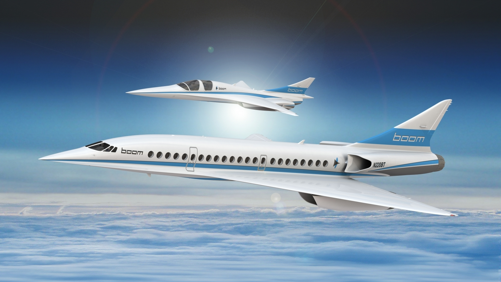Supersonic Jet That Can Fly From London To New York In 3