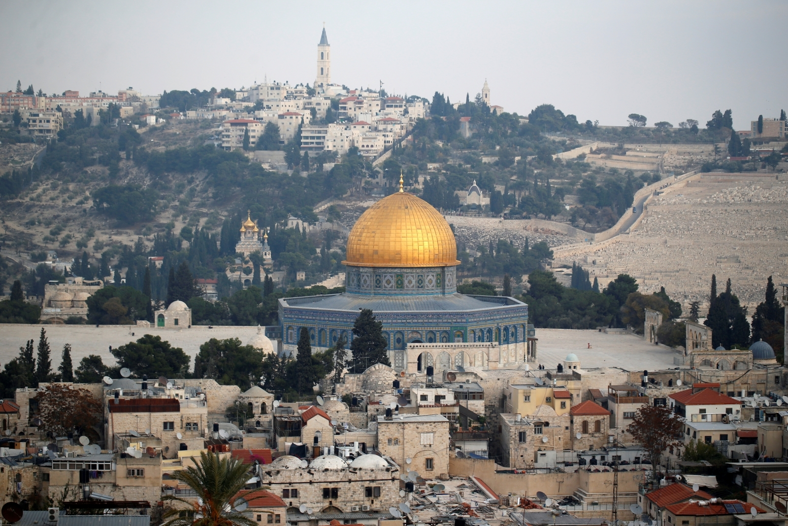 Israel Jerusalem capital and Donald Trump