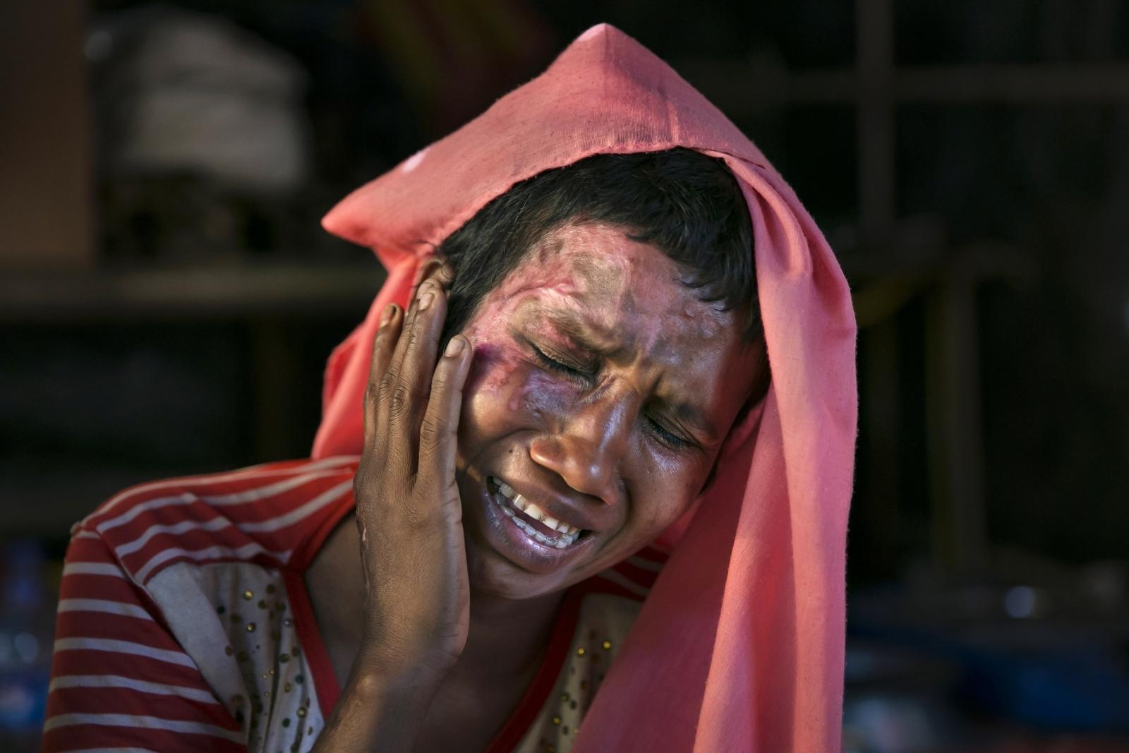 Rohingya rape survivors