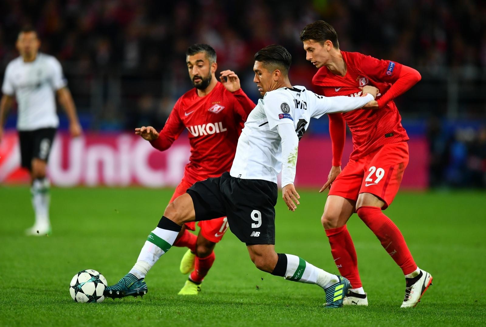 Liverpool vs Spartak Moscow, Shakthar Donetsk vs ...