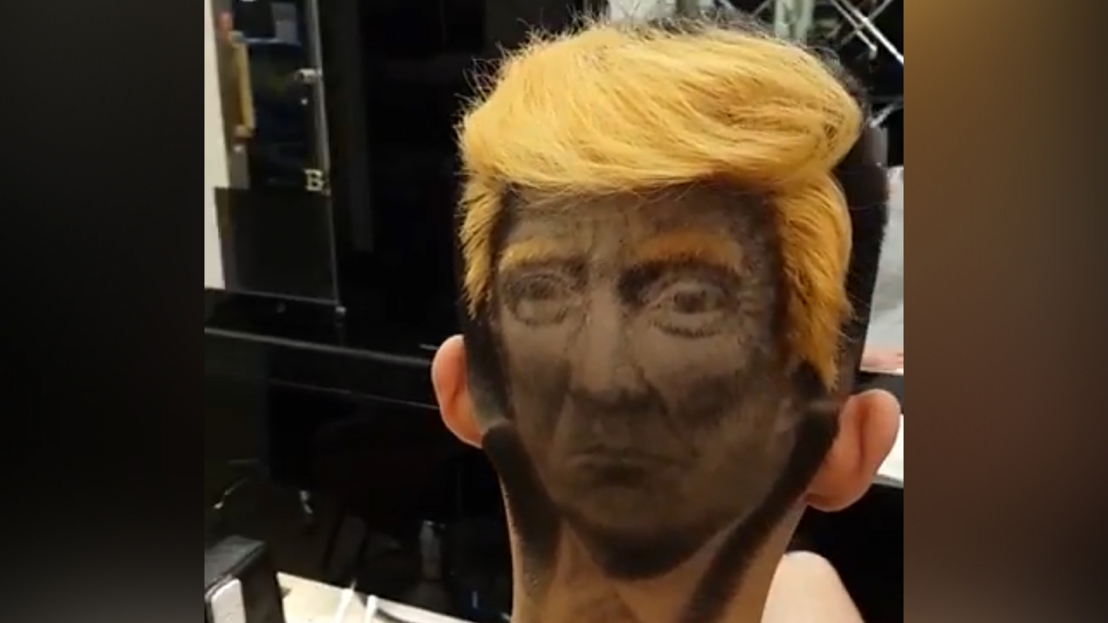 You can now get a Donald Trump 'hair tattoo'
