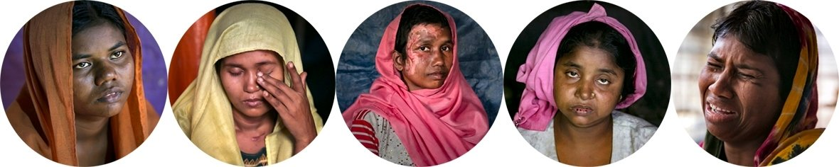 Rohingya rape survivors