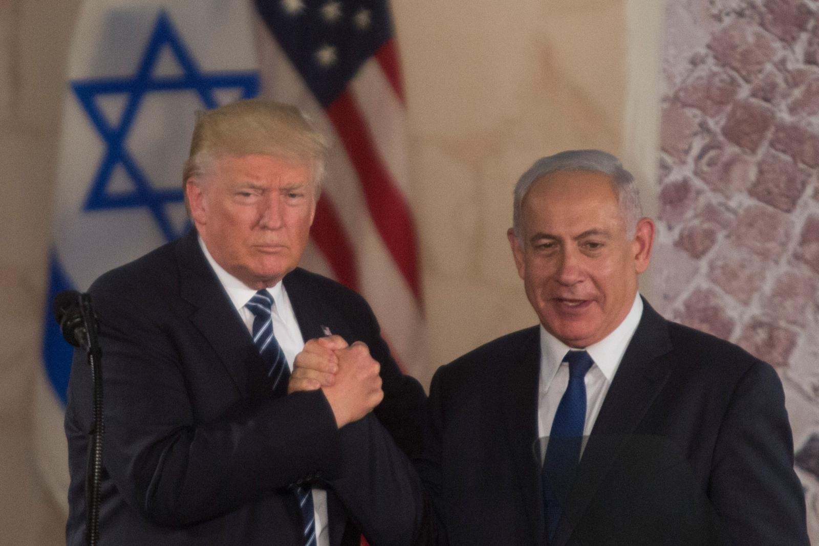 Trump and Netanyahu