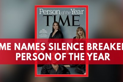 Time Magazine Names Silence Breakers Person Of The Year