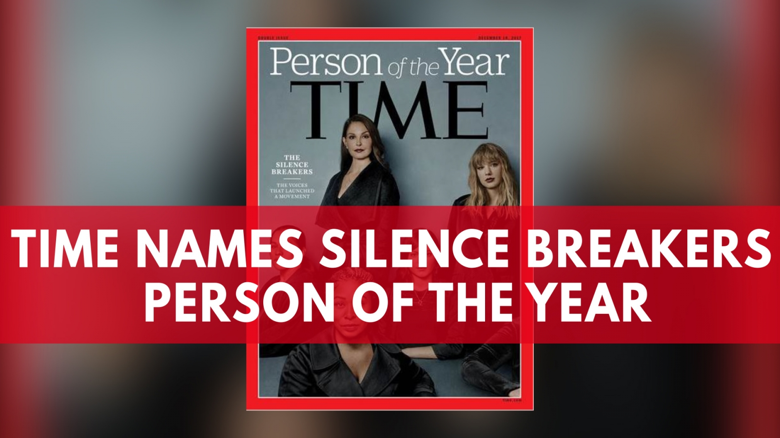 Time magazine names 'Silence Beakers' Person of the Year
