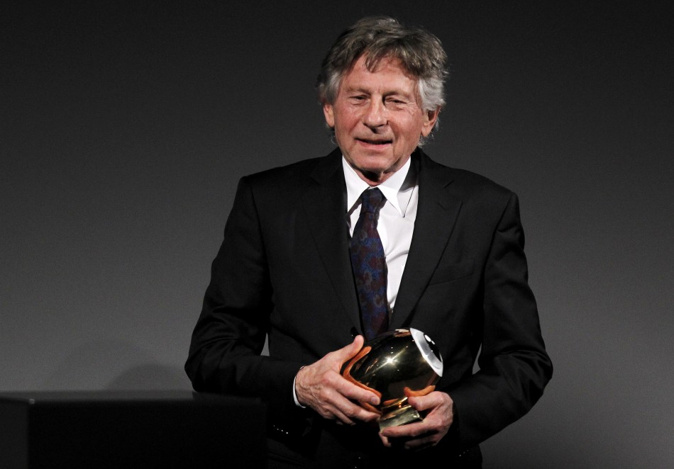 Director Roman Polanski receives his Tribute Award at the Zurich Film Festival
