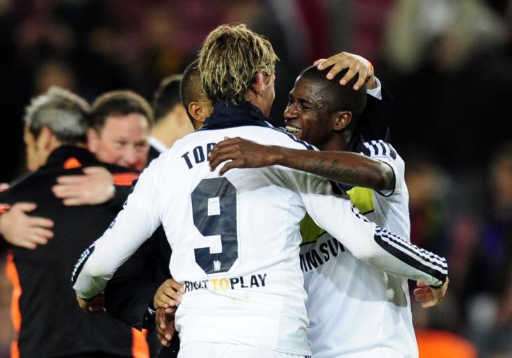 Ramires and Fernando Torres