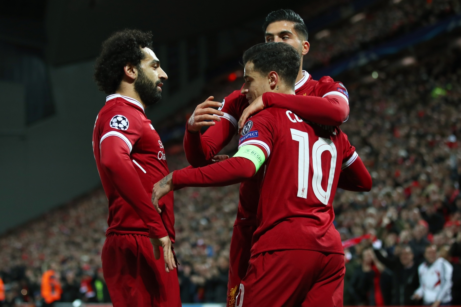 Salah, Can and Coutinho