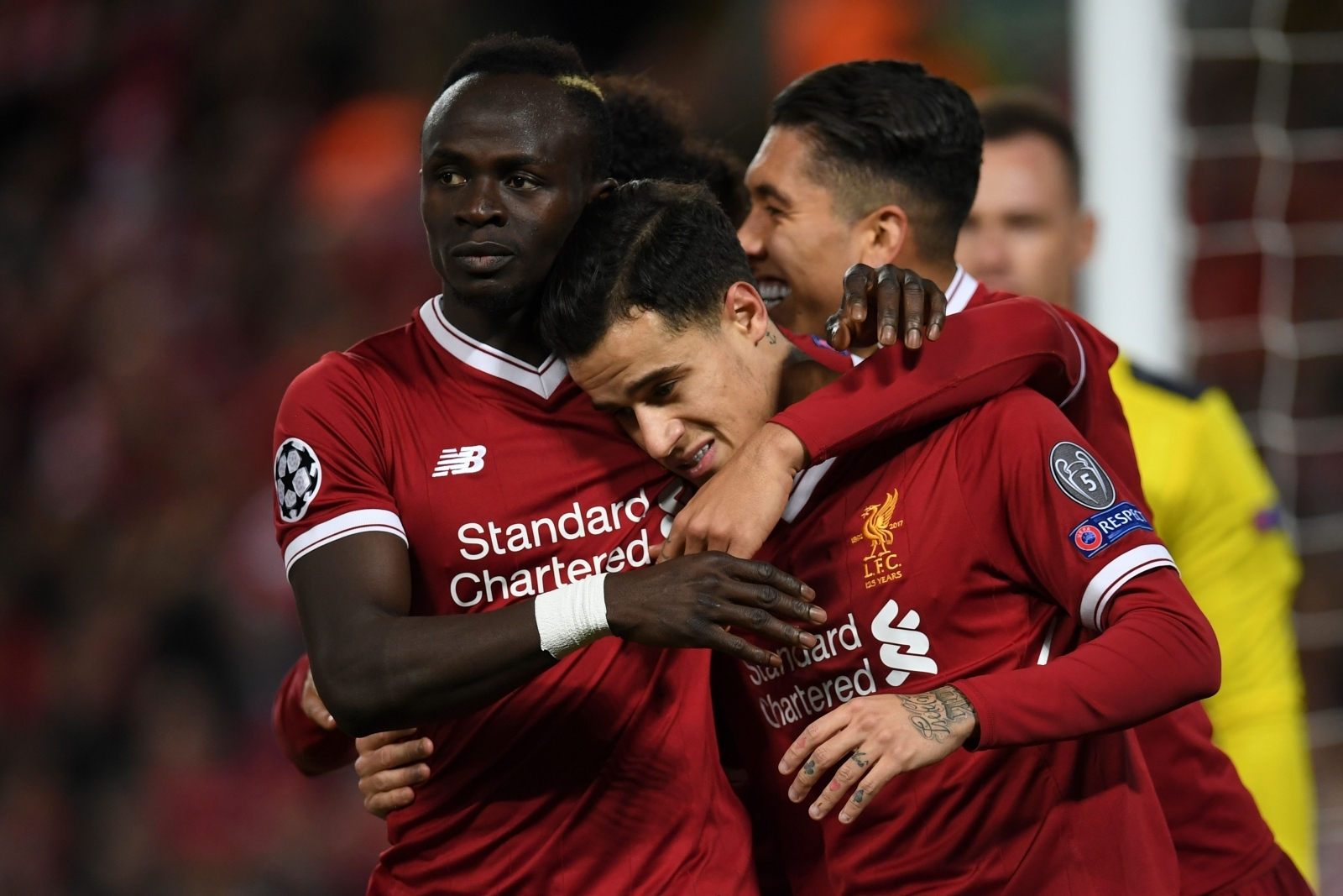 Sadio Mane and Philippe Coutinho