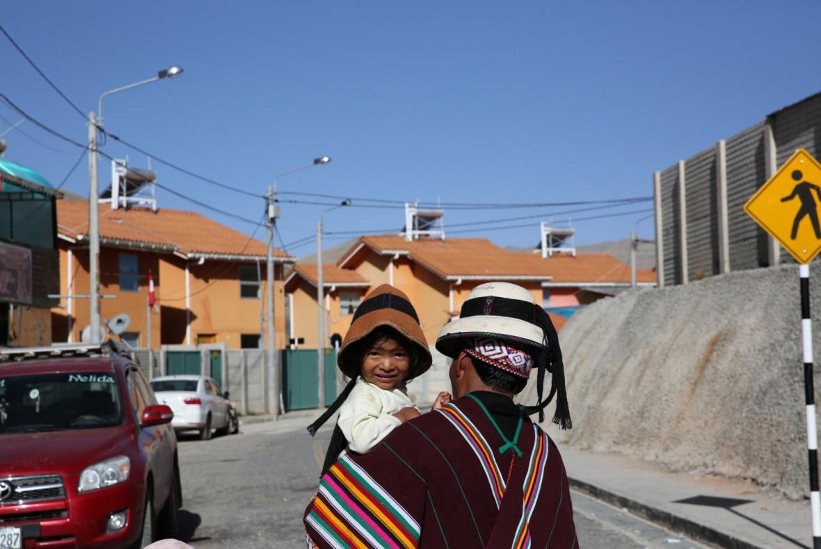Peru mining village