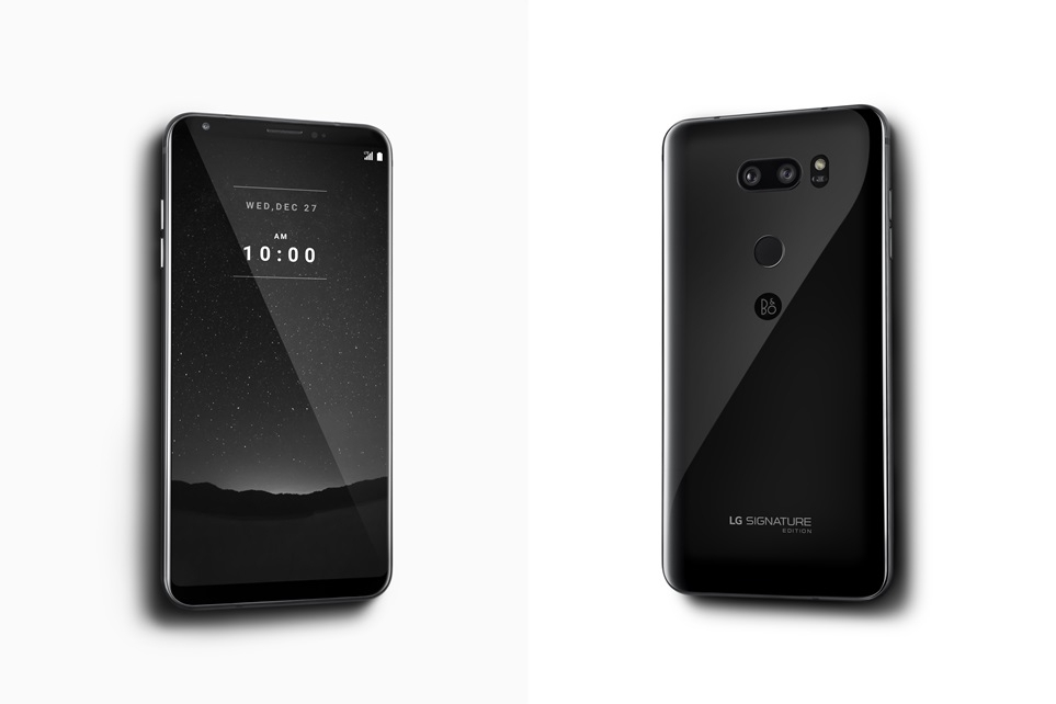 LG V30 Signature Edition Launched in Korea, Costs Nearly $2000