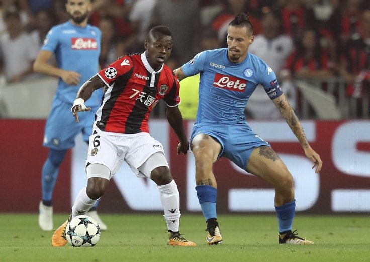 Jean Michael Seri and Marek Hamsik