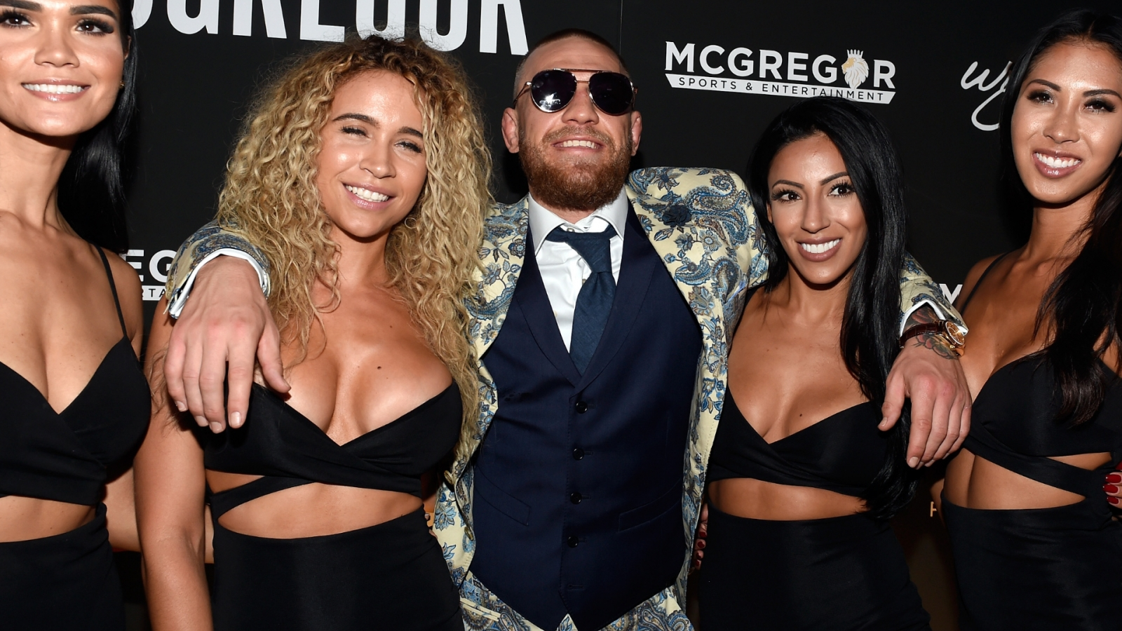 Conor McGregor gives a shout out to Rita Ora