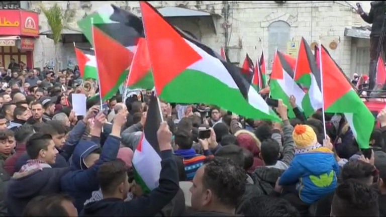 Protests against Trump\'s Jerusalem announcement around the world