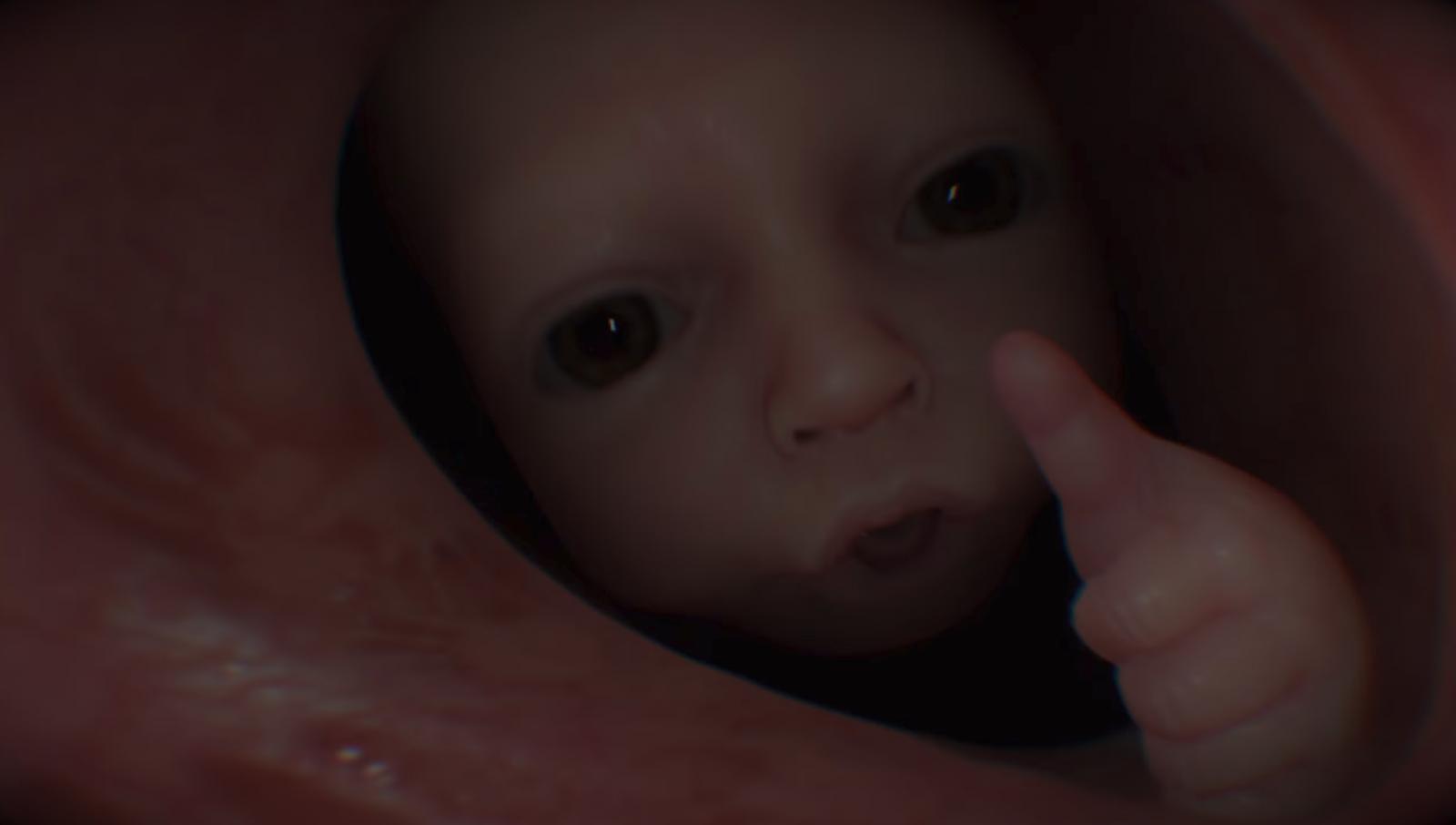 Death Stranding Baby