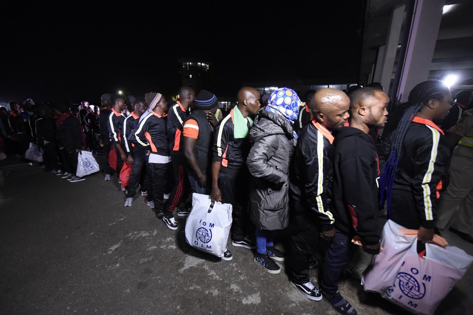 Nigeria migrants