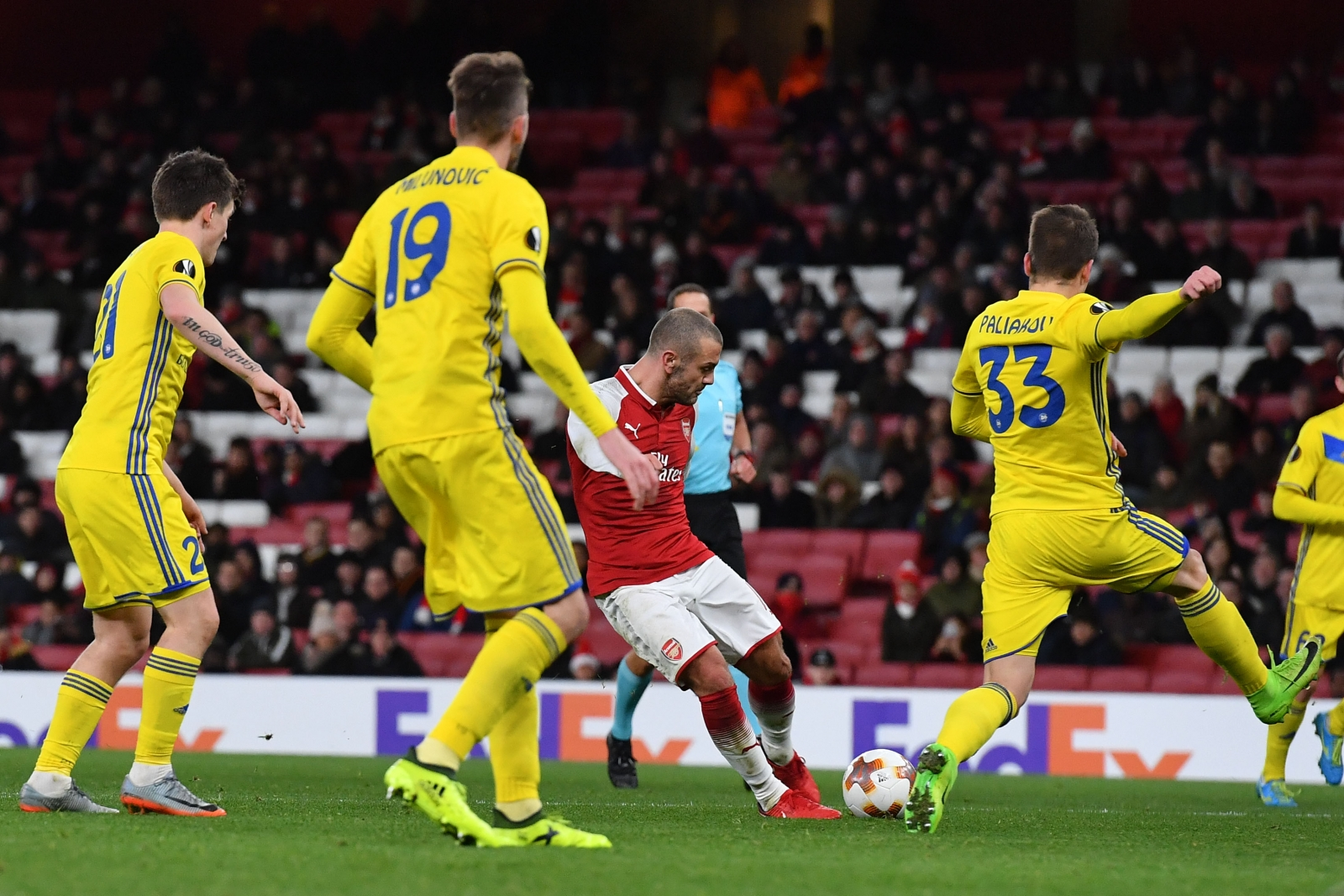 Arsene Wenger Praises Jack Wilshere After Emphatic Europa League Win