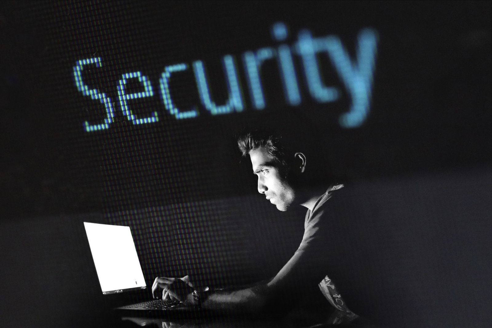 Cybersecurity stock image