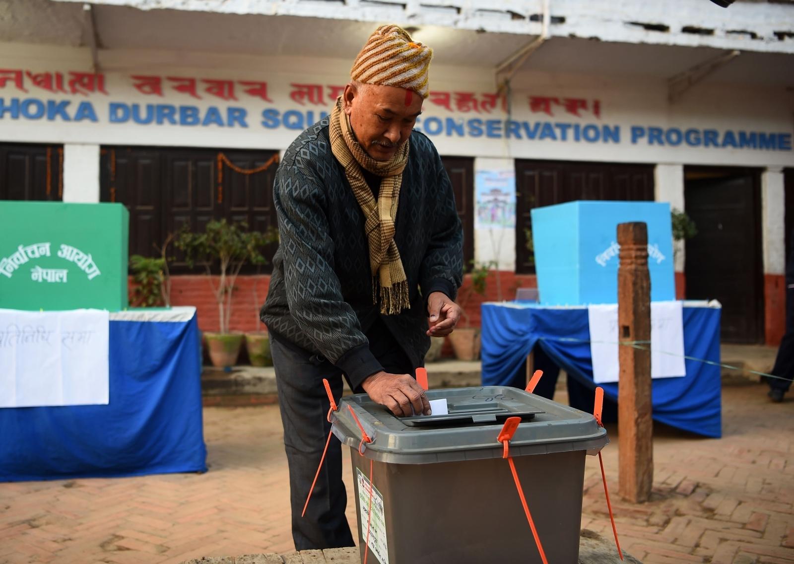 Nepal voter