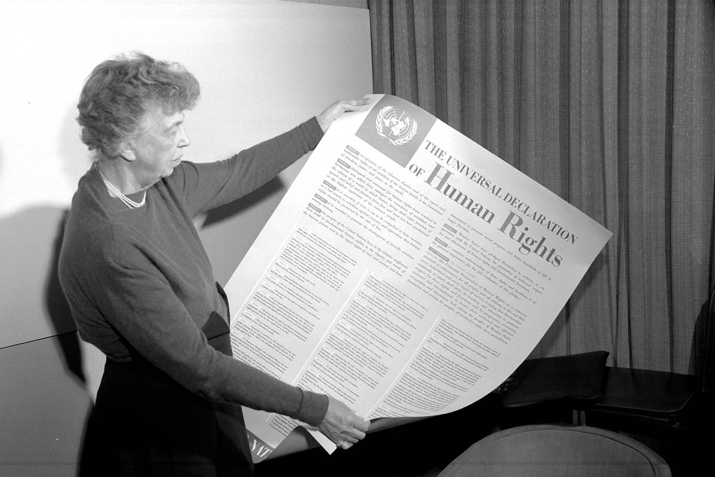 Eleanor Roosevelt, Universal Declaration of Human Rights