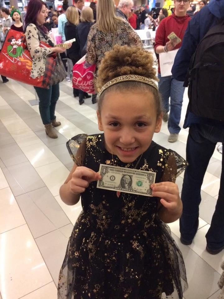 Dollar bill daughter
