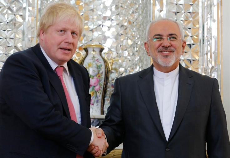 Boris Johnson in Iran