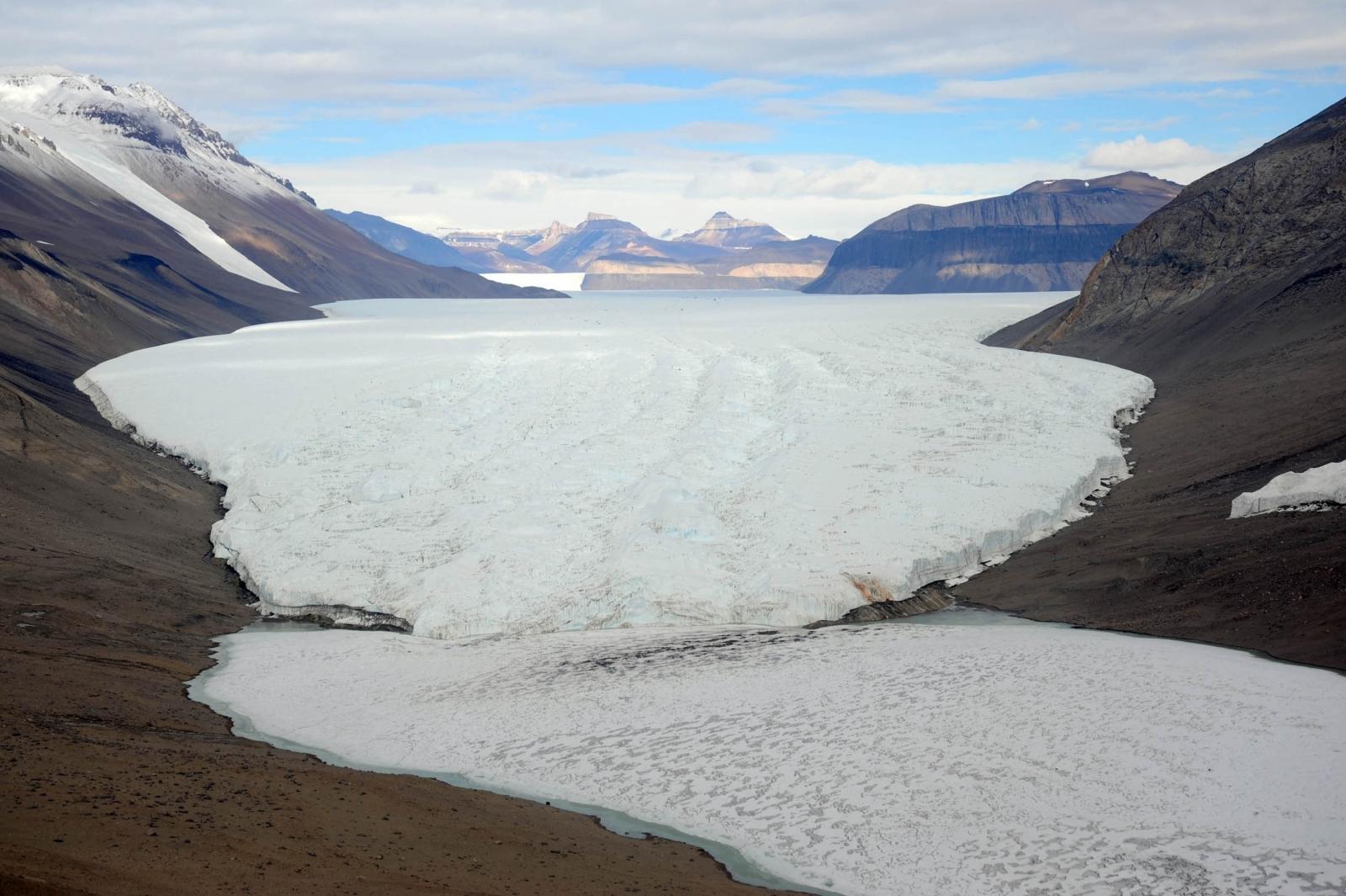 Antarctica dry valley
