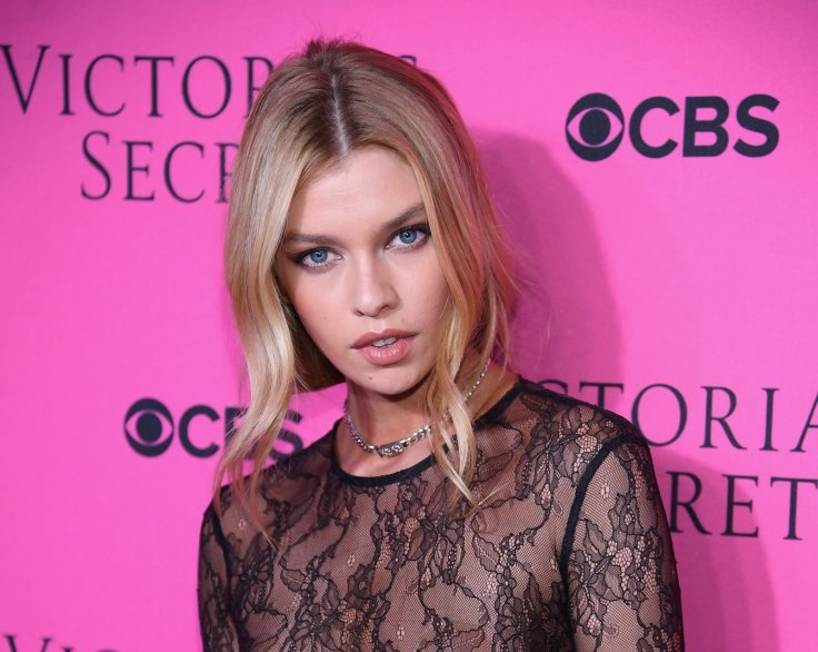 Stella Maxwell attends Victoria's Secret Angels' viewing party for 2017  Getty