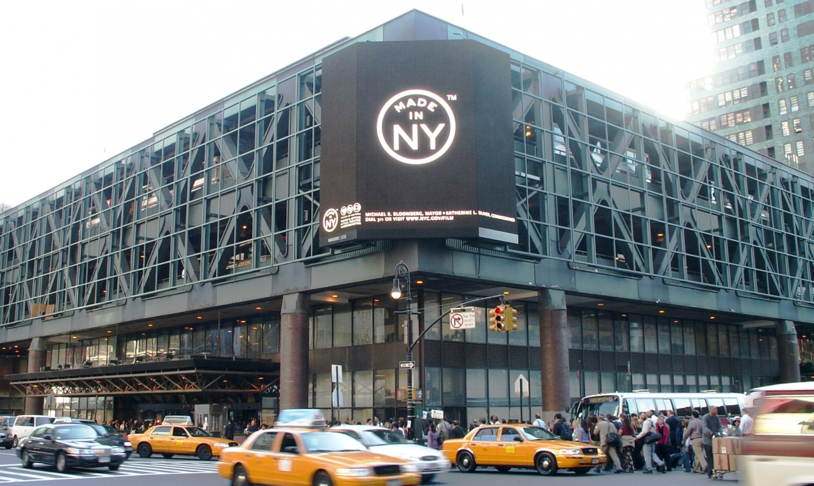New York Port Authority Bus Terminal