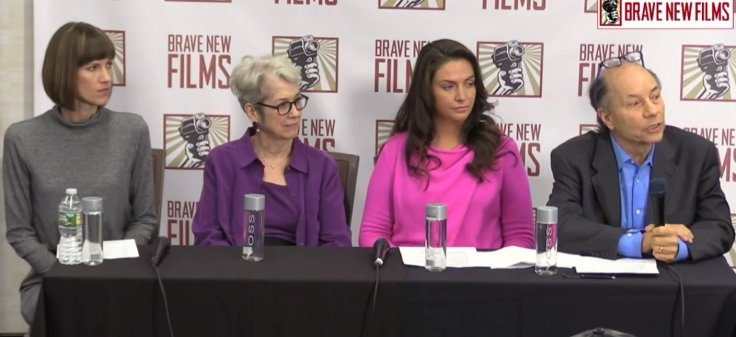 Donald Trump's accusers hold press conference