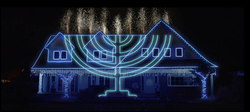 Pornhub Hanukkah advert screenshot