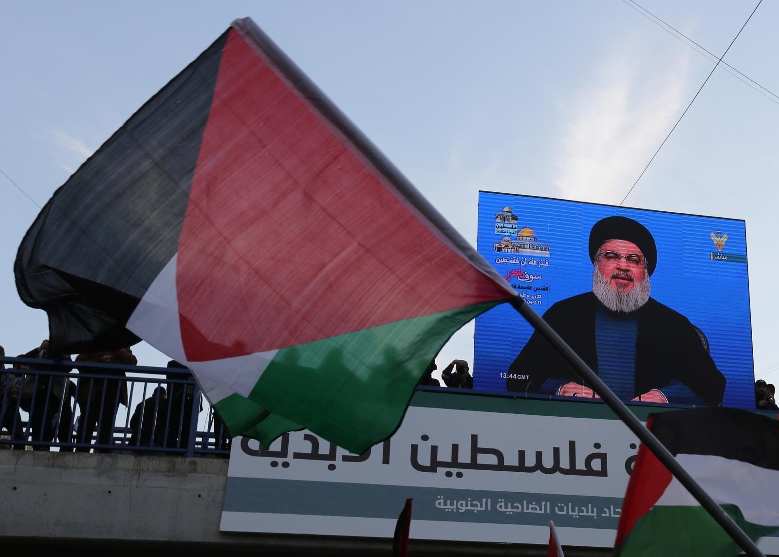 Lebanon Hezbollah on Jerusalem