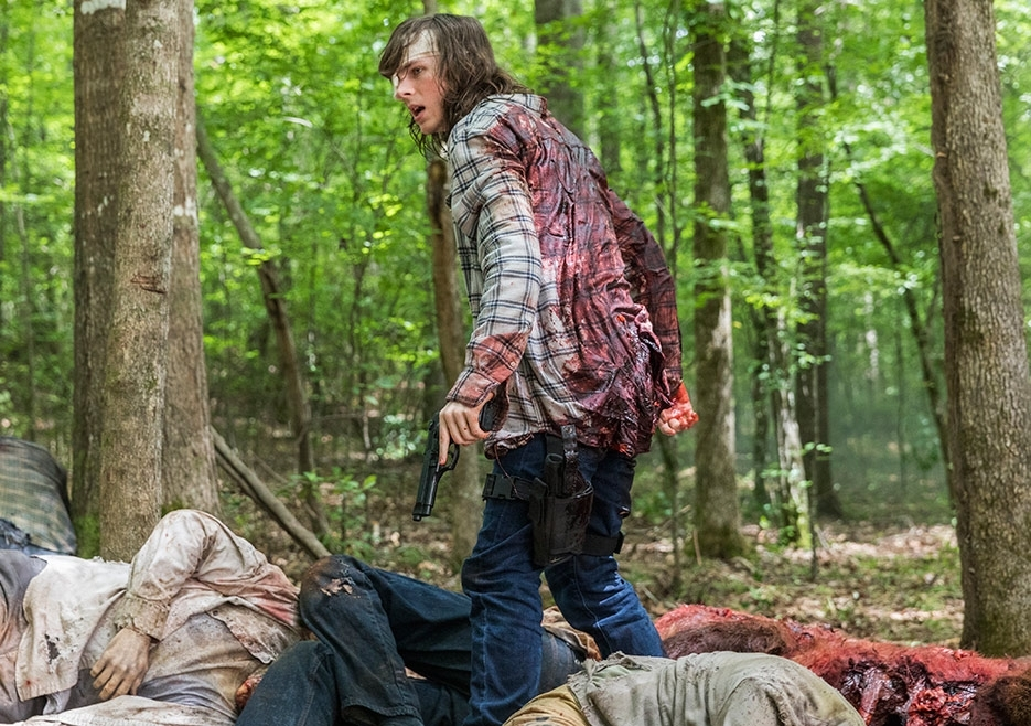 The Walking Dead star's dad reacts to son's 'firing'