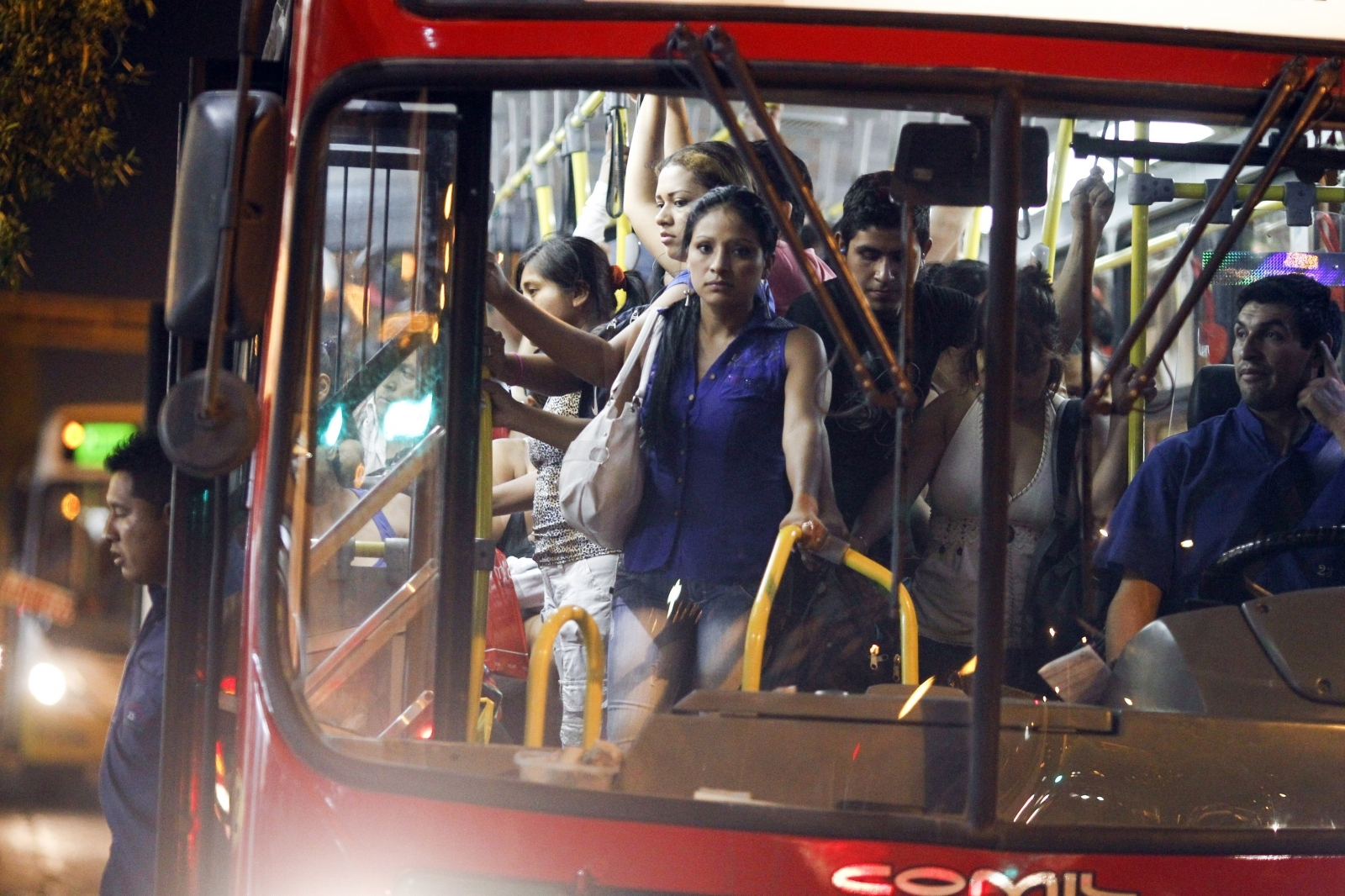 colombia is introducing women-only sections on buses to stop men