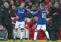 Phil Jagielka and Wayne Rooney