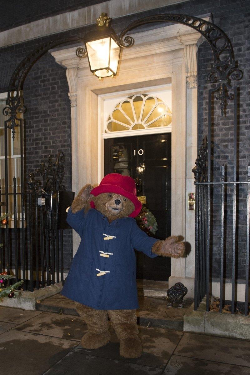 Paddington Bear Downing street