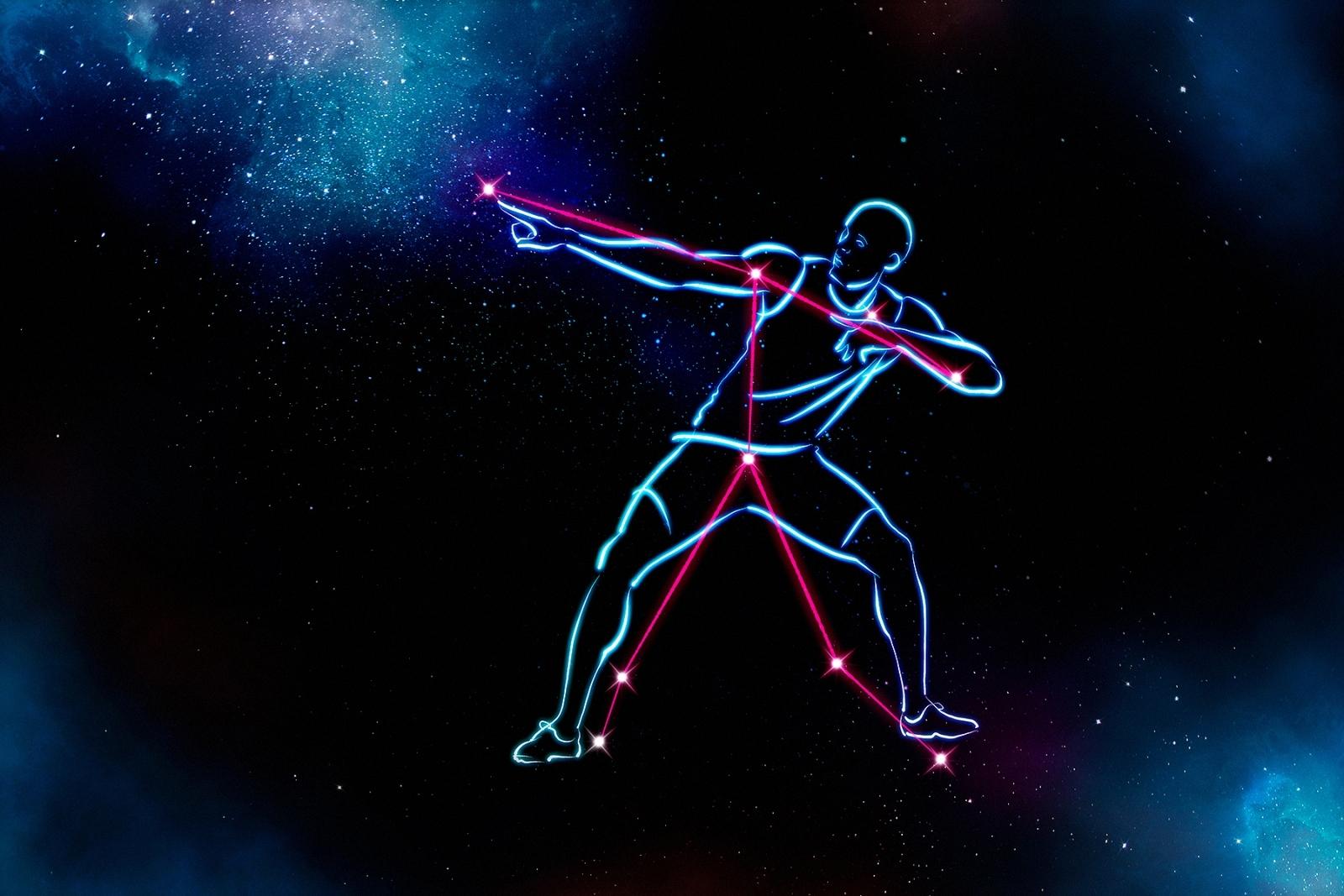 Usain Bolt constellation
