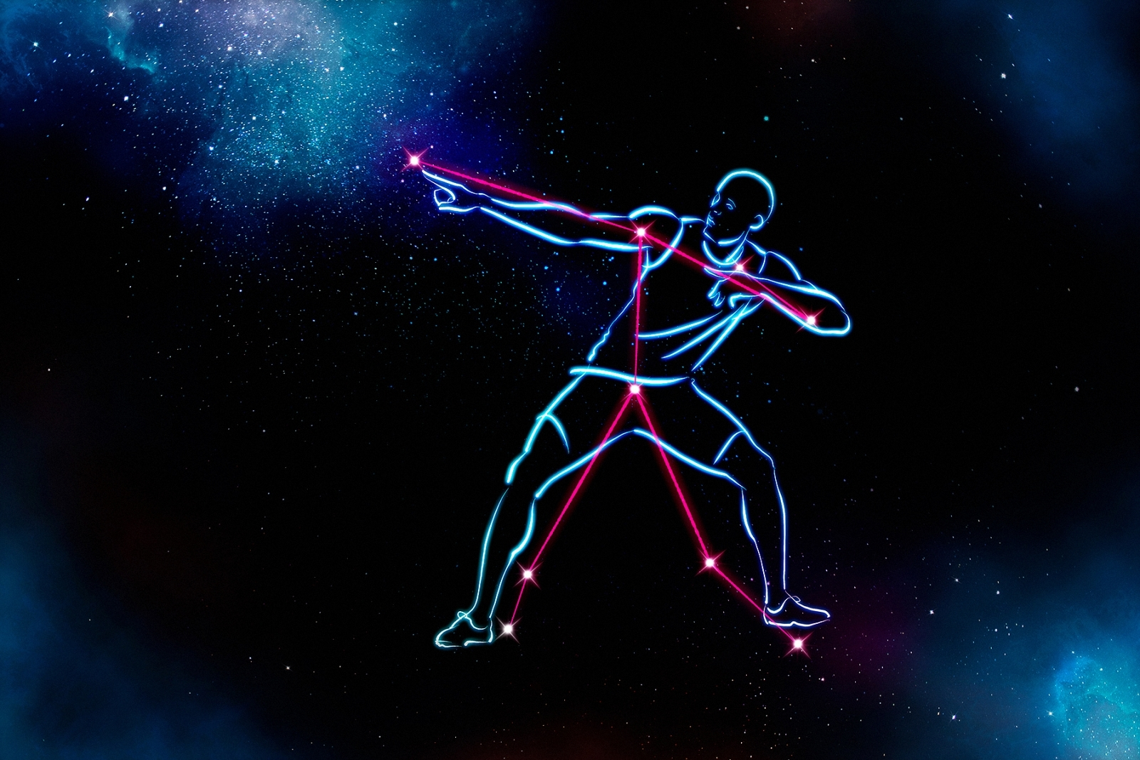Usain Bolt constellation