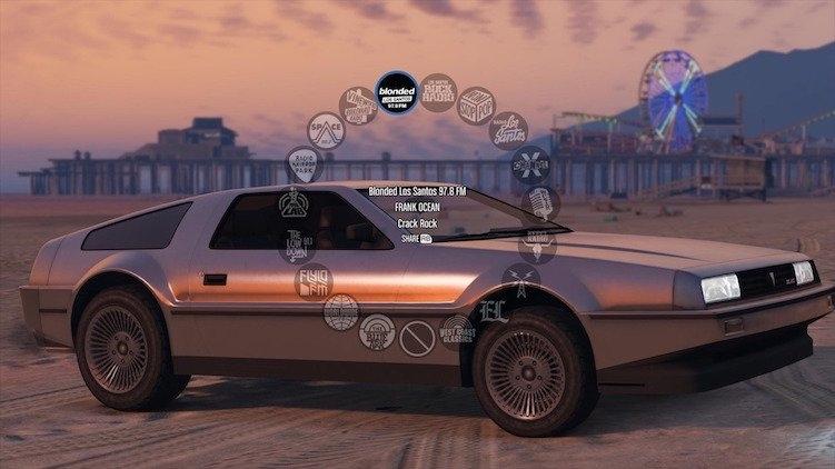 GTA 5 Online Blonded Frank Ocean