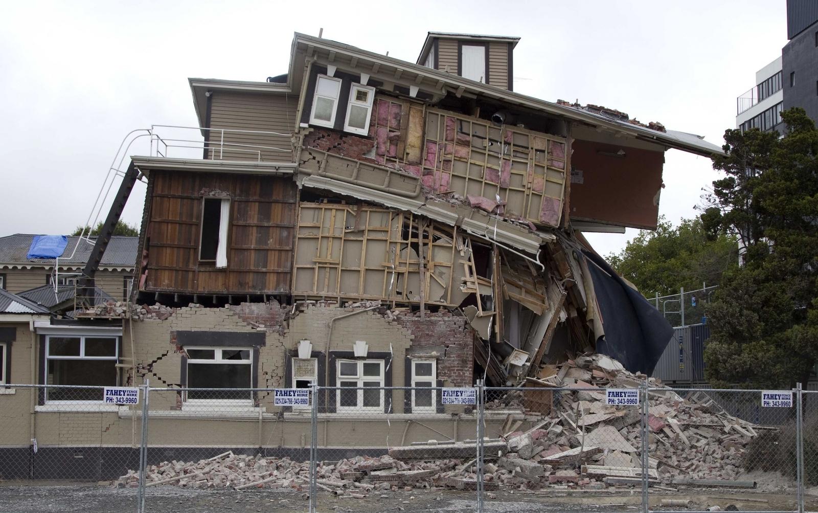 New Zealand Earthquake warning