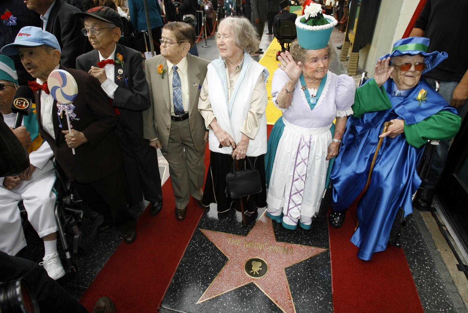 Munchkins Walk of Fame