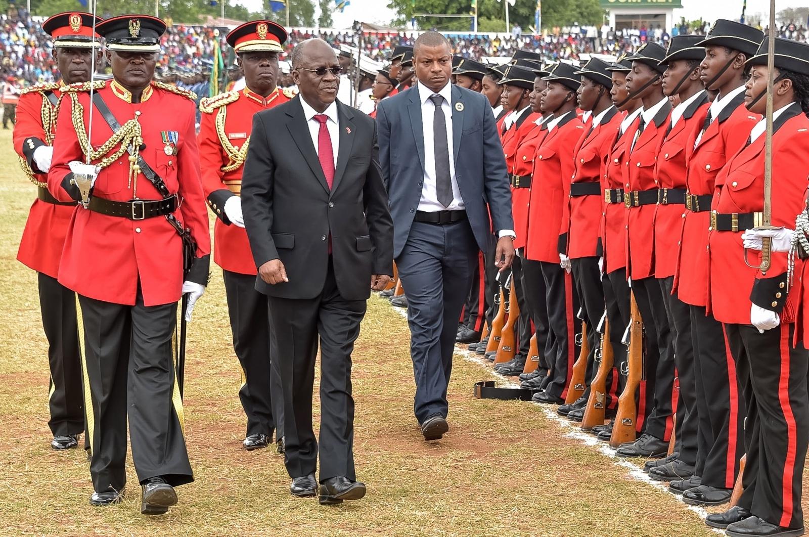 President John Pombe Magufuli