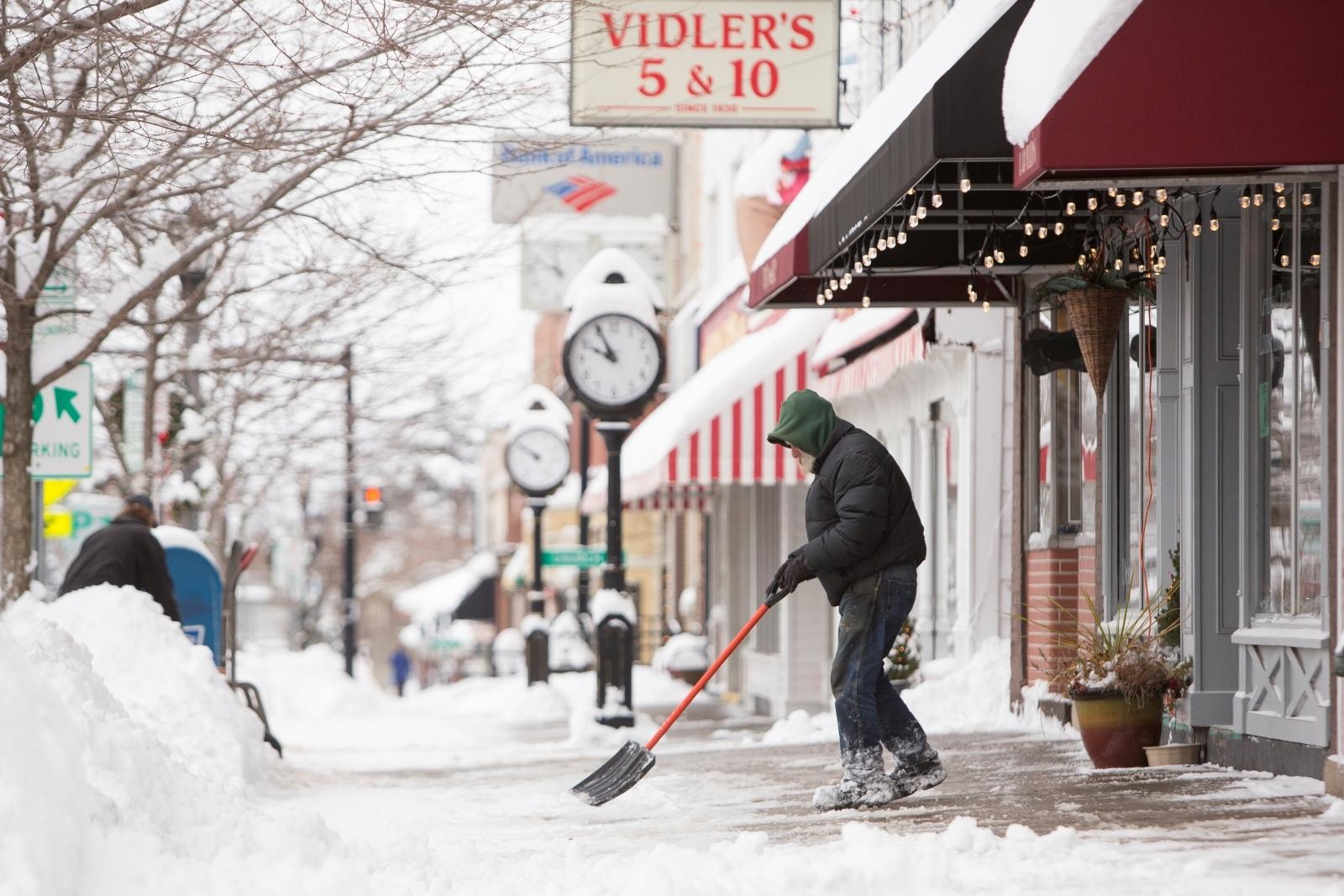 Snow, New York, Buffalo