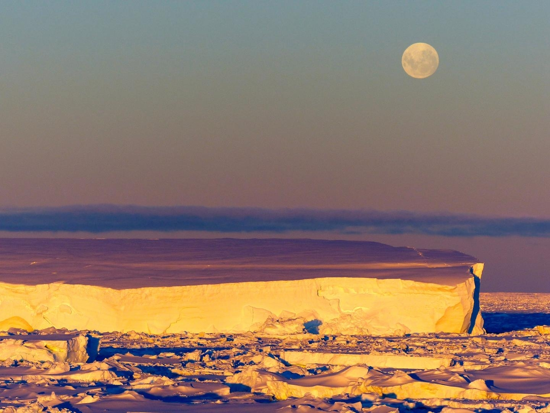 East Antarctica ice sheet