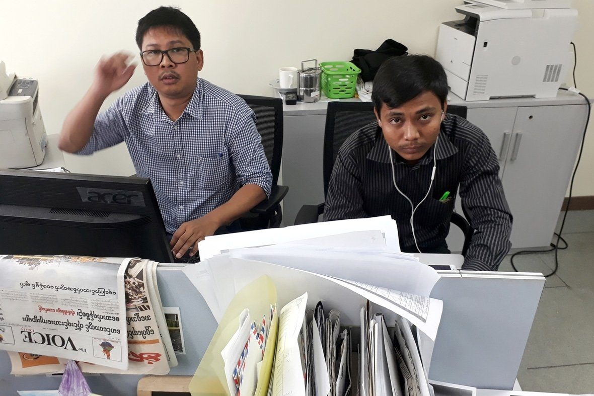 Myanmar reuters journalists arrested